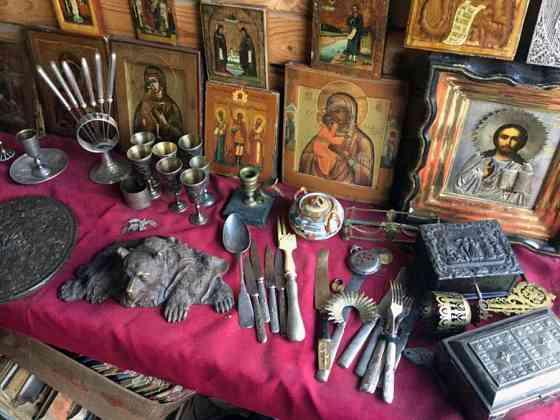 Куплю значки, марки, картины, иконы, янтарь, банкноты, рог шерстистого носорога Москва