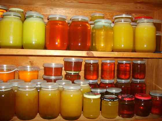 Мёд натуральный, отобран у домашних пчёл силой Владимир