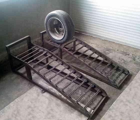 Мини эстакада для мелкого ремонта автомобиля Москва