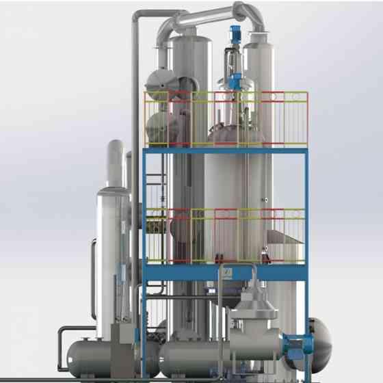 Оборудование для рафинации пищевого, технического и кормового животного жира, растительного масла Москва
