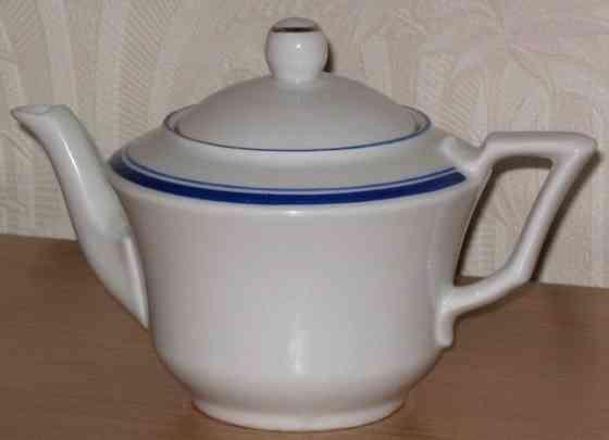 Фарфоровый чайник Рижская фарфоровая фабрика Москва