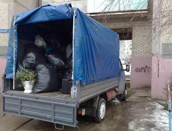 Вывоз мусора, вывоз строительного мусора, мебели Симферополь
