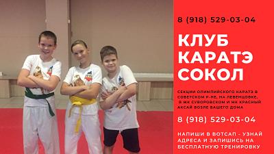 Каратэ для детей Ростов Левенцовка Ростов-на-Дону