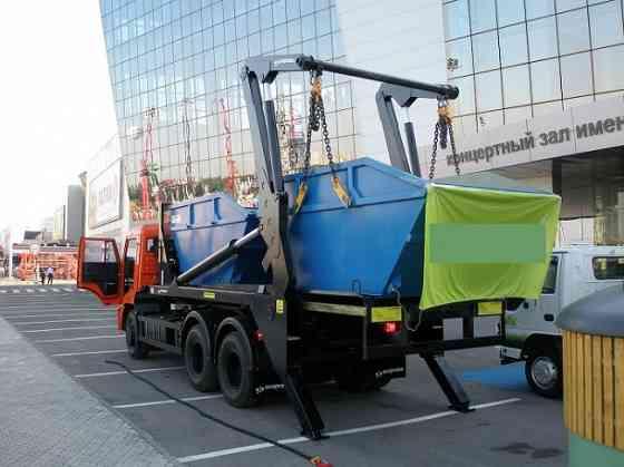 Вывоз строительного мусора бункером Воронеж Воронеж