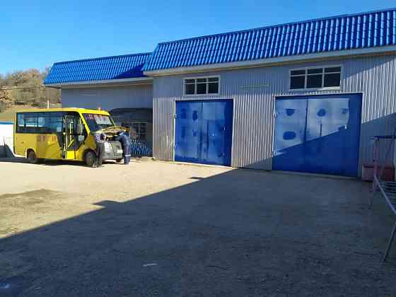 Продается автосервис действующий 2400кв.м. п. Голубинка 17 соток Севастополь