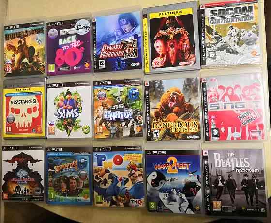 Продаю Лицензионные игры PS3 Мирный