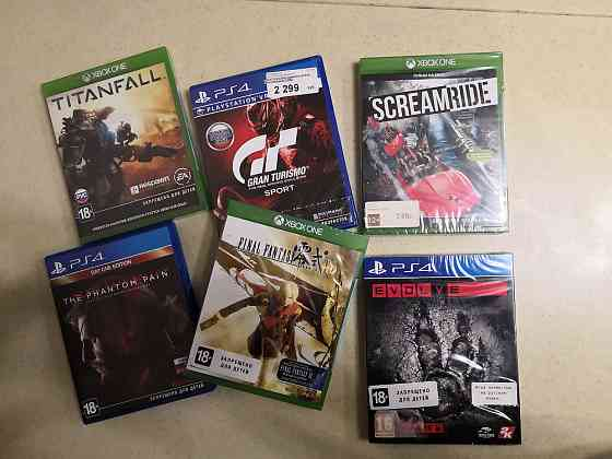 Продаю Лицензионные игры на PS4 и XBOX One Мирный