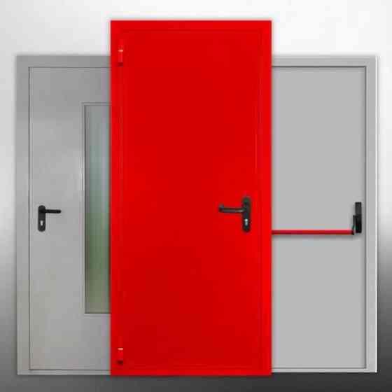 Противопожарные металлические двери EI 60, EIS 60 (оцинкованные) Doorhan Екатеринбург