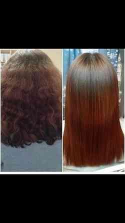 Кератин, ботокс, холодное восстановление волос Омск