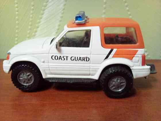 Масштабная модель Mitsubishi Pajero (Coast guard) Самара