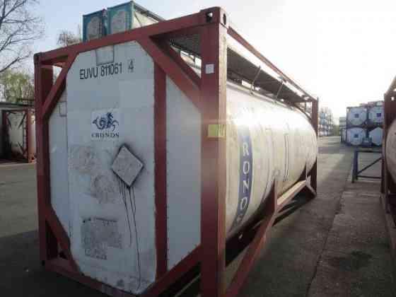 Танк контейнер euvu8110614 25 кубов Санкт-Петербург