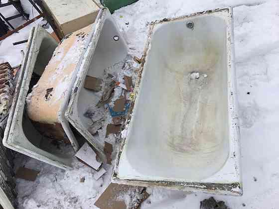 Вывоз чугунных ванн, батарей Нижний Тагил