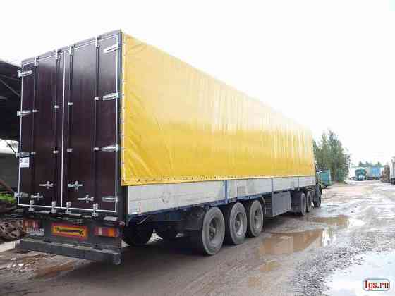 Изготовление и ремонт тентов, каркасы, ворота борта на грузовой автотранспорт Санкт-Петербург