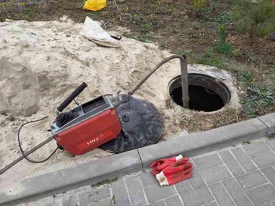 Прочистка канализации, промывка, видео диагностика, устранение засоров Белгород
