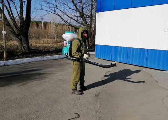 Обработка участков от клещей, муравьёв Челябинск