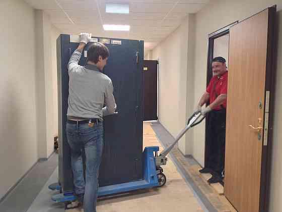 Такелажные работы. Перевозка сейфов, станков, оборудования Екатеринбург