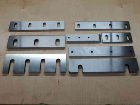 Тульский Промышленный Завод изготовит для вашего предприятия ножи к гильотинным ножницам, шредерам Екатеринбург