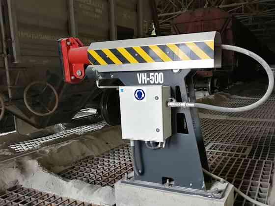 Виброразгружатель VH-500 - уплотнение груза при загрузке вагонов Санкт-Петербург