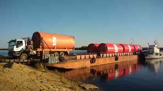 Доставка водным транспортом по ЯНАО Надым