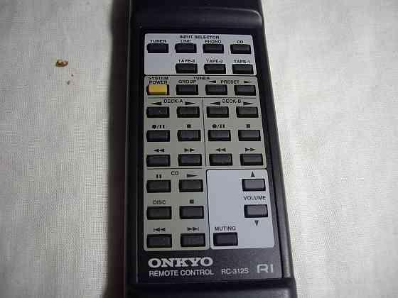 Пульт ONKYO RC-312S R1 Made in Malaysia Челябинск