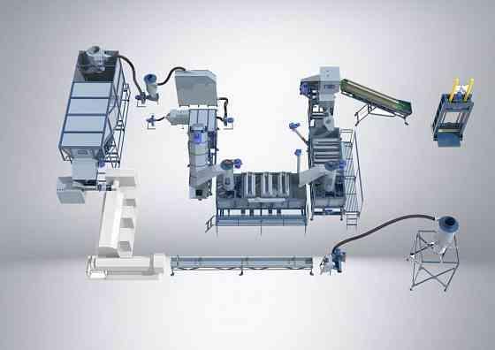 Оборудование для переработки пластика и полимерных материалов Волоколамск