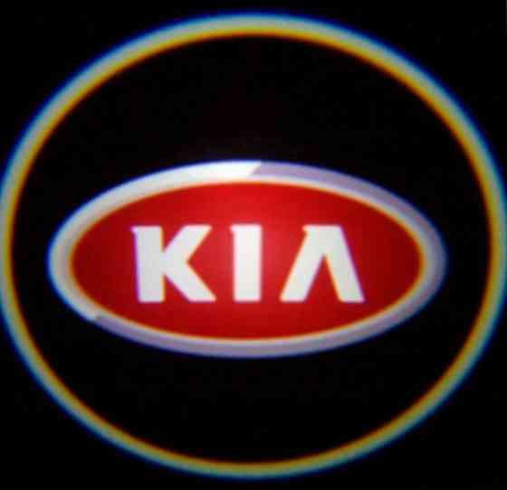 Штатная подсветка дверей с логотипом киа и хундай Иваново