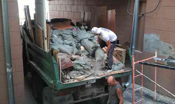 Вывоз строительного мусора. Вывоз старой мебели, деревьев Анапа