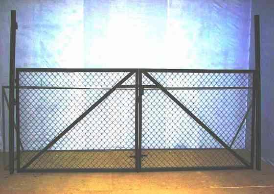 Ворота металлические Тула