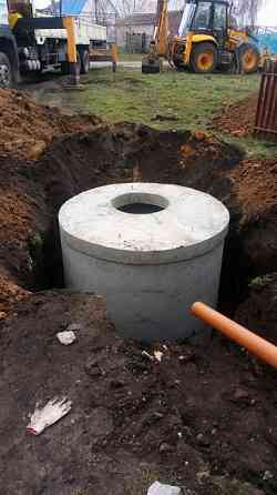 Выгребные ямы. Монтаж канализации Липецк