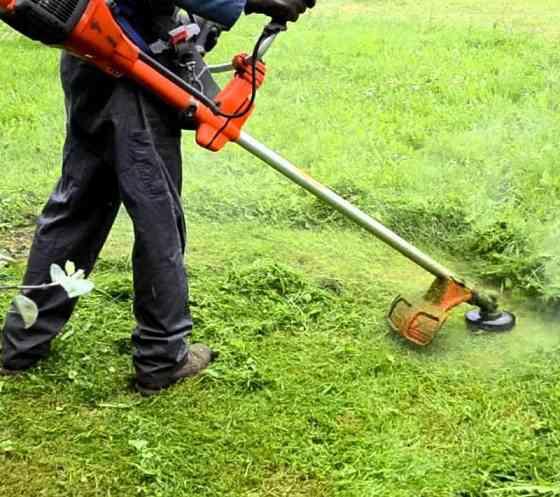 Покос травы в Кропоткине Кропоткин