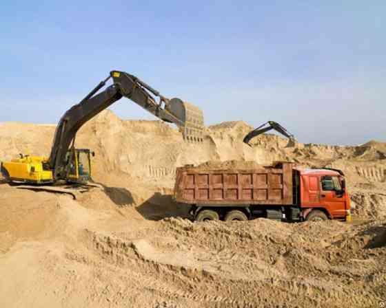 Строительный песок оптом от производителя Чита