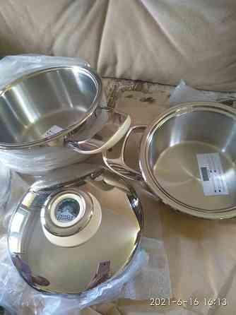 Набор новой кухонной посуды Новокуйбышевск