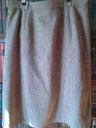 Женская юбка из шерстяного твида 54 разм Санкт-Петербург