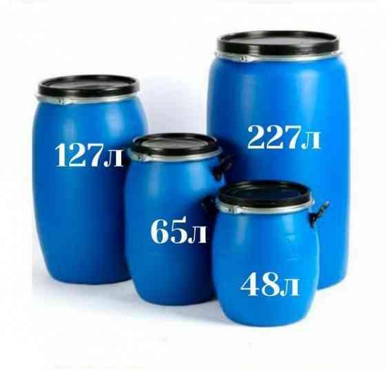 Бочка для воды пластиковая 227 литров Тула