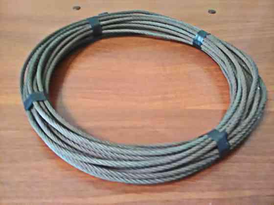 Трос стальной 5 мм 15 метров Самара