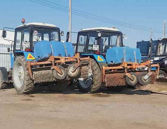 Аренда трактора щетки Санкт-Петербург