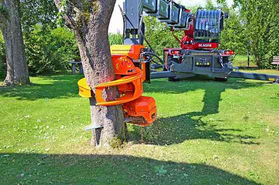 Захват с пилой для валки деревьев Саратов