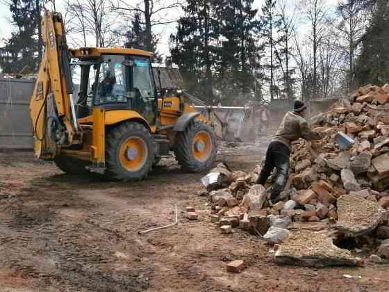 Демонтаж строений, слом зданий, утилизация и вывоз строительного мусора Москва