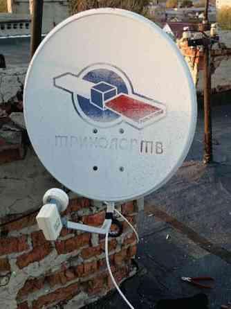 Установка и ремонт спутникового и цифрового тв, подключение приёмников, подвес и настройка телевизор Моршанск