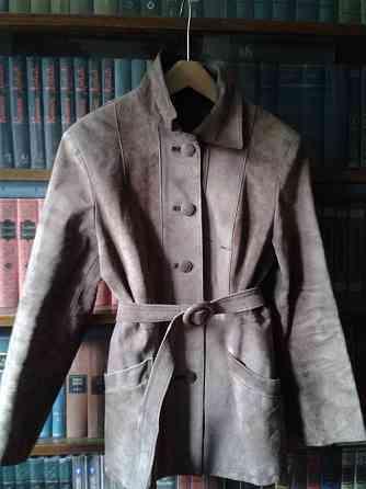 Стильный пиджак/жакет из натур.замши шоколад.цвета Санкт-Петербург
