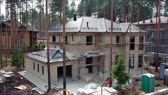 Строительство загородной недвижимости, каменных домов Санкт-Петербург