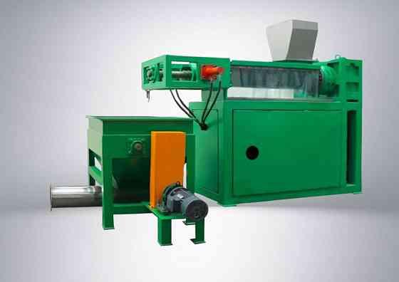 Пресс-отжим, оборудование для утилизации пластмасс Каспийск
