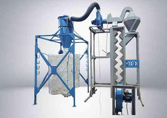 Спиральная сушка, оборудование для утилизации полимеров Стрежевой
