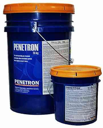Пенетрон— смесь сухая гидроизоляционная проникающая капиллярная Екатеринбург