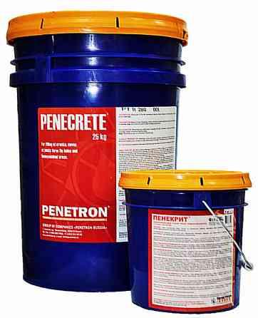 Пенекрит— смесь сухая мелкозернистая, гидроизоляционная Екатеринбург
